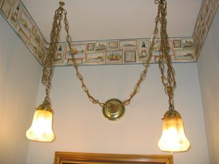 Ugly Bathroom Light Fixtures surrender, dorothy: learning what to hide