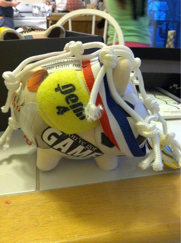 Hoggin Craft: Sports Pig and Lego Pig