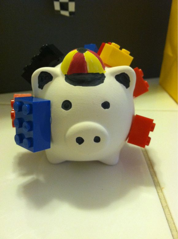 Hoggin Craft: Sports Pig and Lego Pig