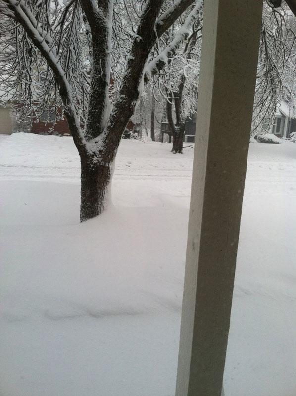 Snow-drift